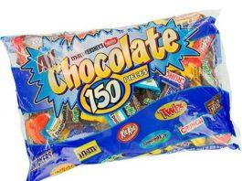 Keo-Socola-tong-hop-All-Chocolate-150-Pieces-2.55kg-cua-My