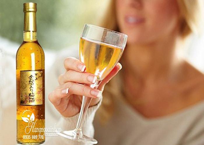 Công dụng của rượu mơ vảy vàng Kikkoman Nhật