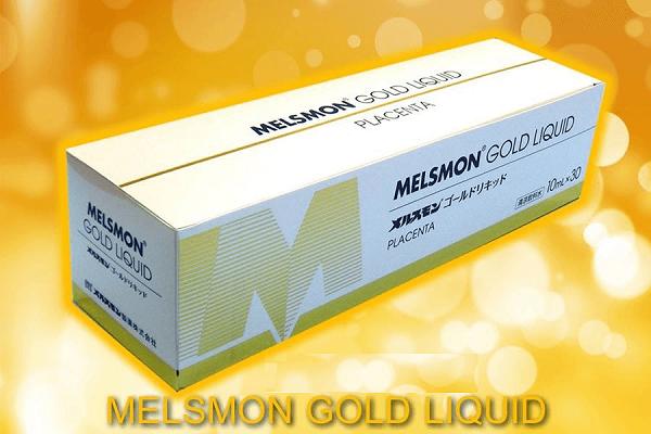 Nước uống nhau thai ngựa Melsmon Gold Liquid có tác dụng gì