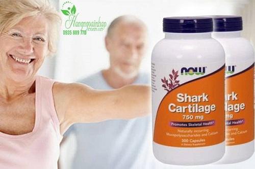 Viên uống sụn vi cá mập Now Shark Cartilage có tốt không-2
