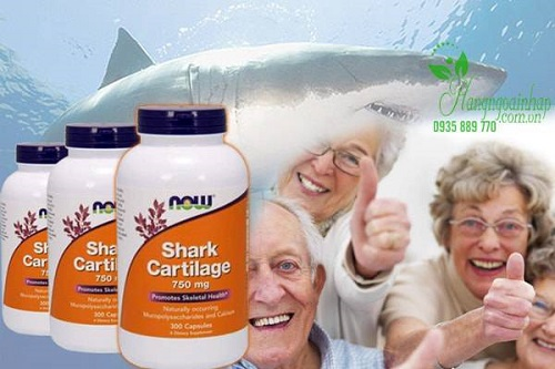 Viên uống sụn vi cá mập Now Shark Cartilage có tốt không-3