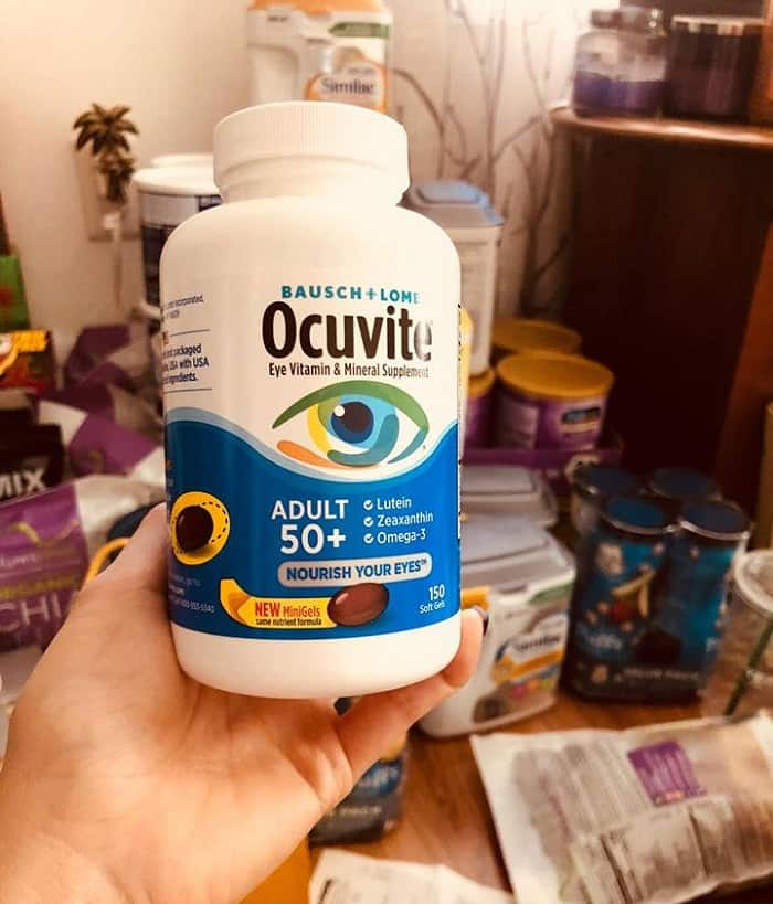 thuốc ocuvite adults 50+ 150 vien