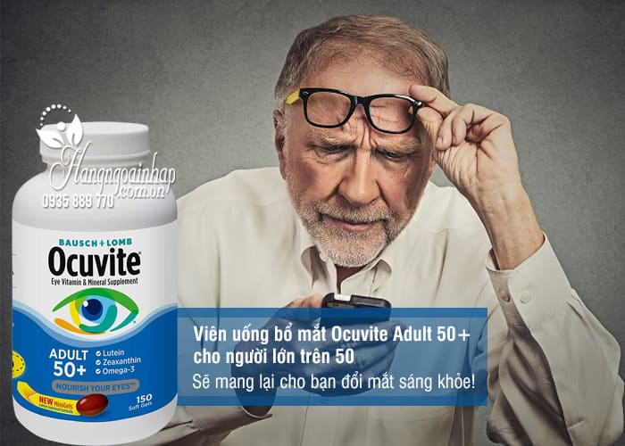 ocuvite adults 50+ 150 vien
