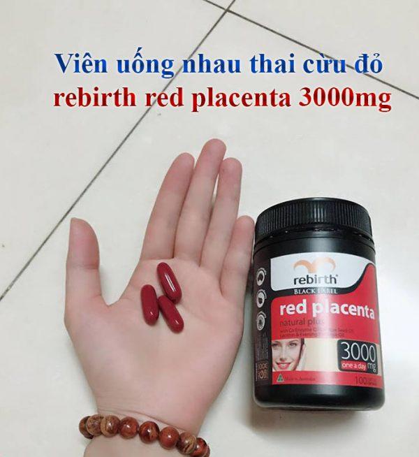 Nhauthaicừurebirth đỏ 100 viên