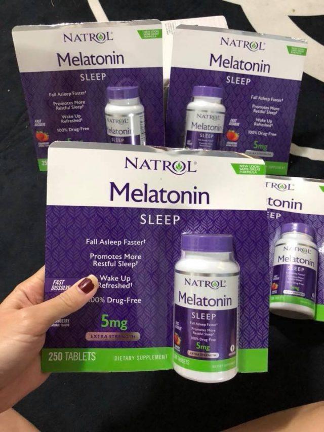 Tìm hiểu vềnatrol melatonin sleep 5mg của Mỹ