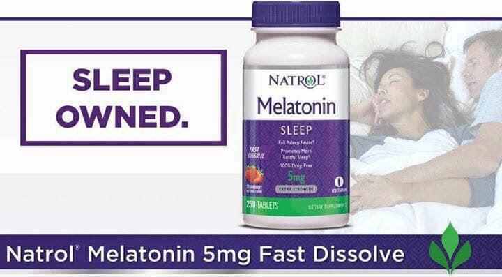 Tác dụng melatonin 5mg: