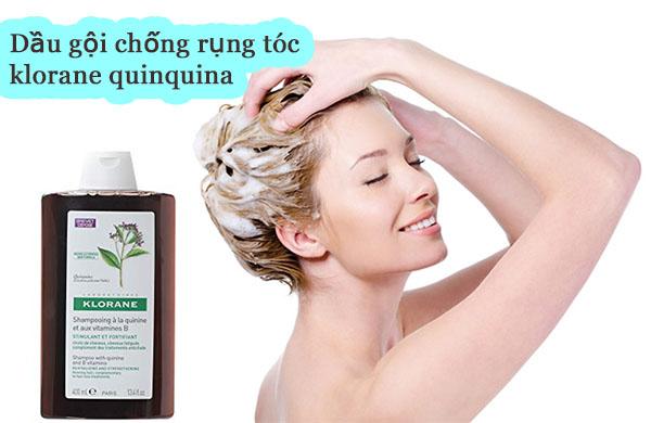 Review dầu gội trị rụng tóc klorane có tốt không