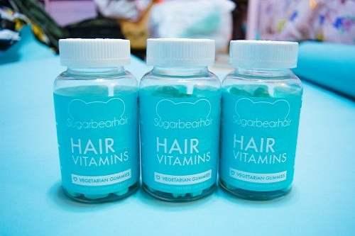 Kẹo mọc tóc Sugar Bear Hair Vitamins giá bao nhiêu-1