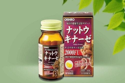 Viên uống Nattokinase 2000FU Orihiro có tốt không-1