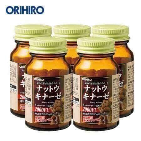 Viên uống Nattokinase 2000FU Orihiro có tốt không-2