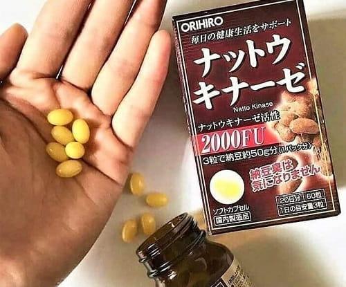 Viên uống Nattokinase 2000FU Orihiro có tốt không-3