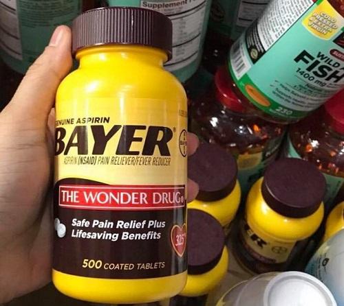 Viên uống giảm đau Bayer Aspirin The Wonder Drug giá bao nhiêu-2