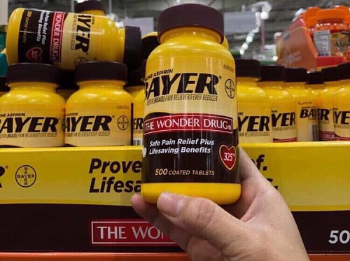 Viên uống giảm đau Bayer Aspirin The Wonder Drug giá bao nhiêu-3