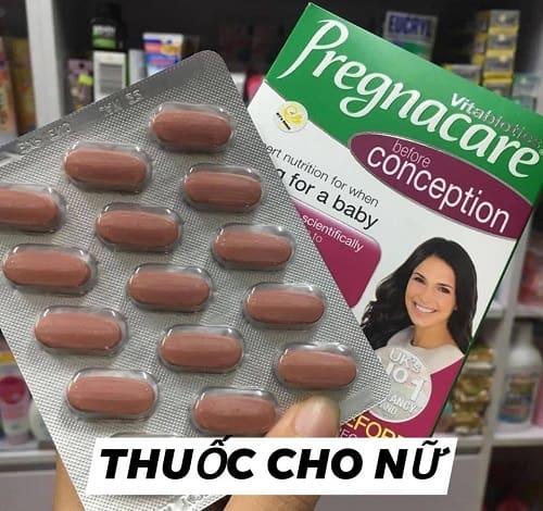 Viên uống vitamin Pregnacare trước bầu có tác dụng gì-2