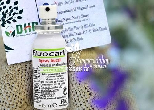 Xịt thơm miệng Fluocaril Spray Buccal giá bao nhiêu-1