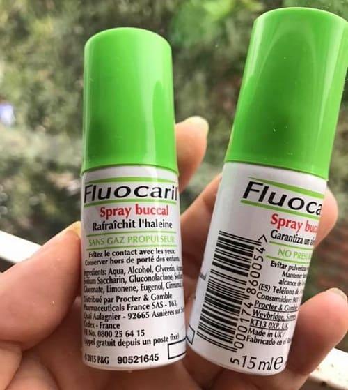 Xịt thơm miệng Fluocaril Spray Buccal giá bao nhiêu-3