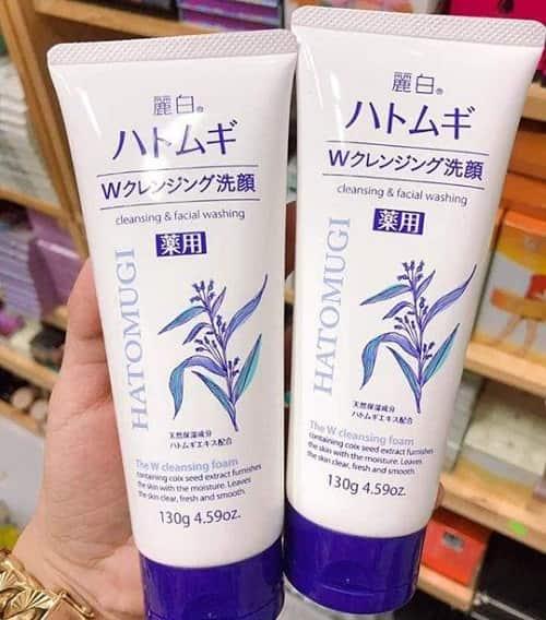 Sữa rửa mặt Hatomugi Naturie có công dụng gì-2