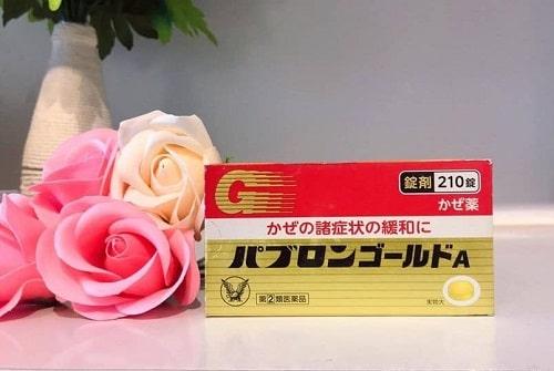 Thuốc cảm Taisho Pabron Gold 210 viên giá bao nhiêu-1