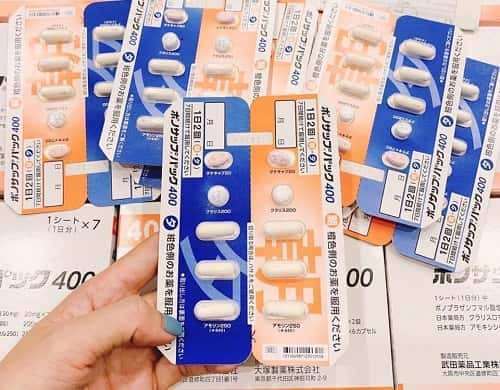 Cách uống thuốc trị vi khuẩn HP Lansup 400-2