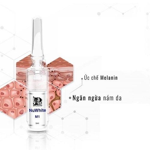 Cách sử dụng kem trị nám Nuwhite M1-2