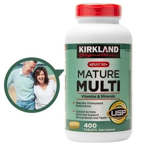 Cách sử dụng vitamin tổng hợp Kirkland Mature Multi-3