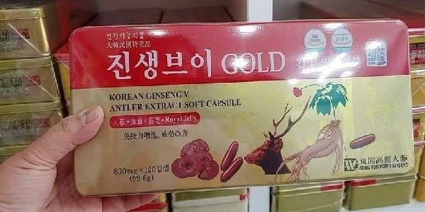 Công dụng của viên uống Korean Ginseng V Antler Extract-2