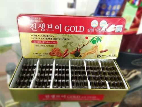 Công dụng của viên uống Korean Ginseng V Antler Extract-3