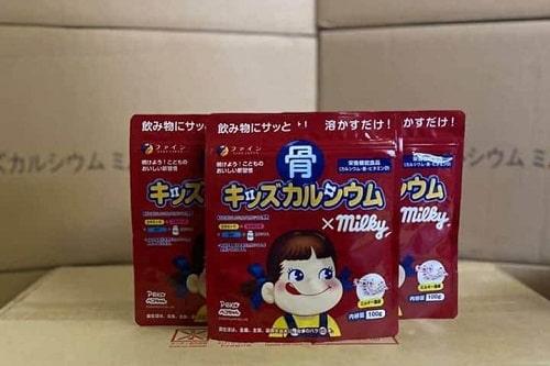 Cách uống bột canxi cá tuyết Milky của Nhật-1