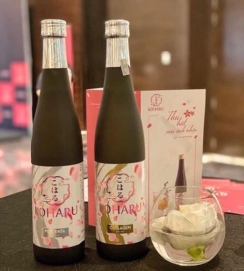 Nước uống đẹp da Koharu Collagen giá bao nhiêu-2