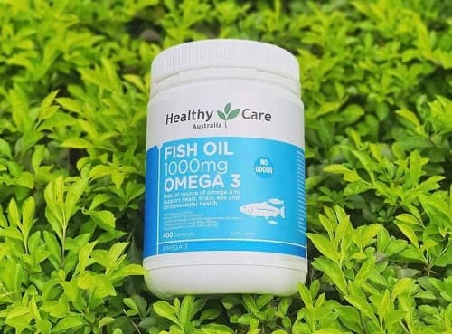 Review viên uống Healthy Care Fish Oil 1000mg Omega-3-3