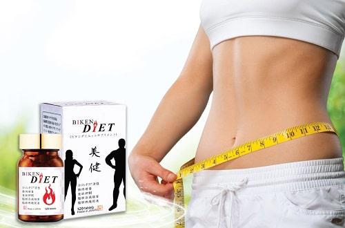 Cách sử dụng viên uống giảm cân Biken Diet của Nhật-1