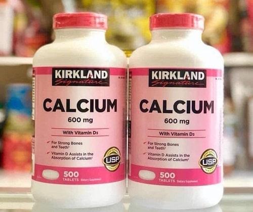 Viên uống Calcium 600mg + D3 giá bao nhiêu?-1