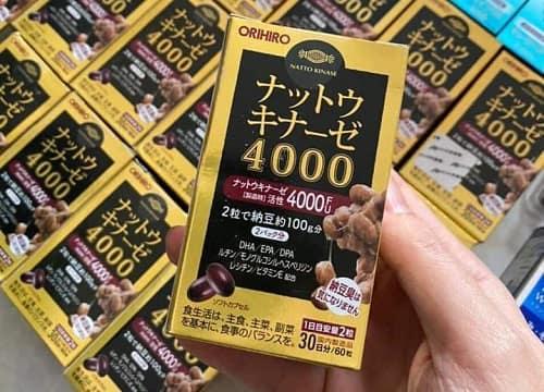 Viên chống đột quỵ Nattokinase 4000FU có tốt không?-1