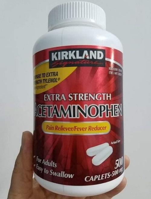 Giá thuốc Acetaminophen 500mg Kirkland bao nhiêu?-2