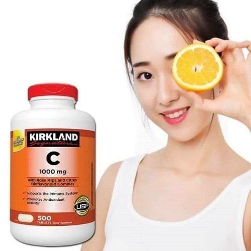 Kirkland Vitamin C 1000mg có tác dụng gì?-3