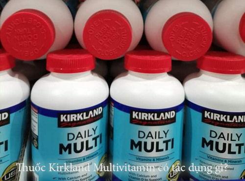 Thuốc Kirkland Multivitamin có tác dụng gì?-1