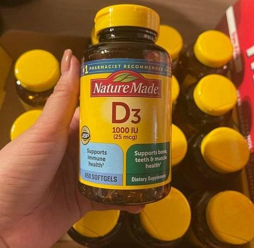 Thuốc Vitamin D3 Nature Made có tốt không?-2