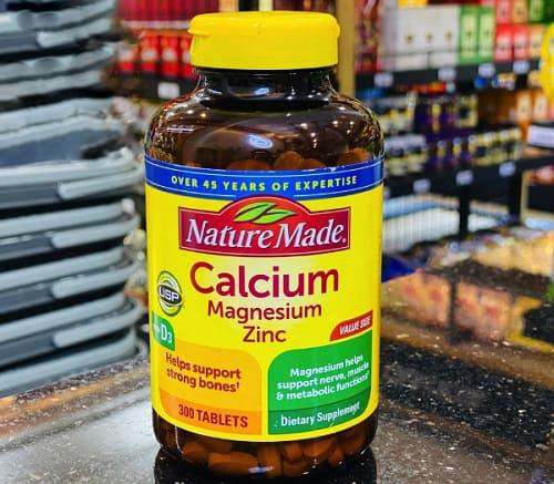 Nature Made Calcium Magnesium Zinc D3 giá bao nhiêu?-2